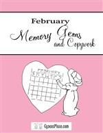 February Memory Gems & Copywork