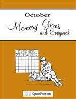 October Memory Gems & Copywork