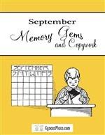 September Memory Gems & Copywork