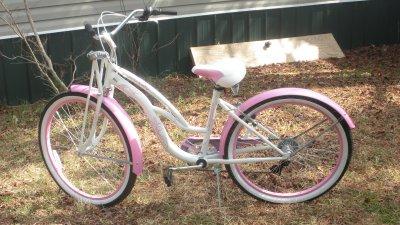 MaryEllen's New Bike