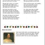 Alice Cary's Poem November