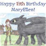 MaryEllen Turns Thirteen!!